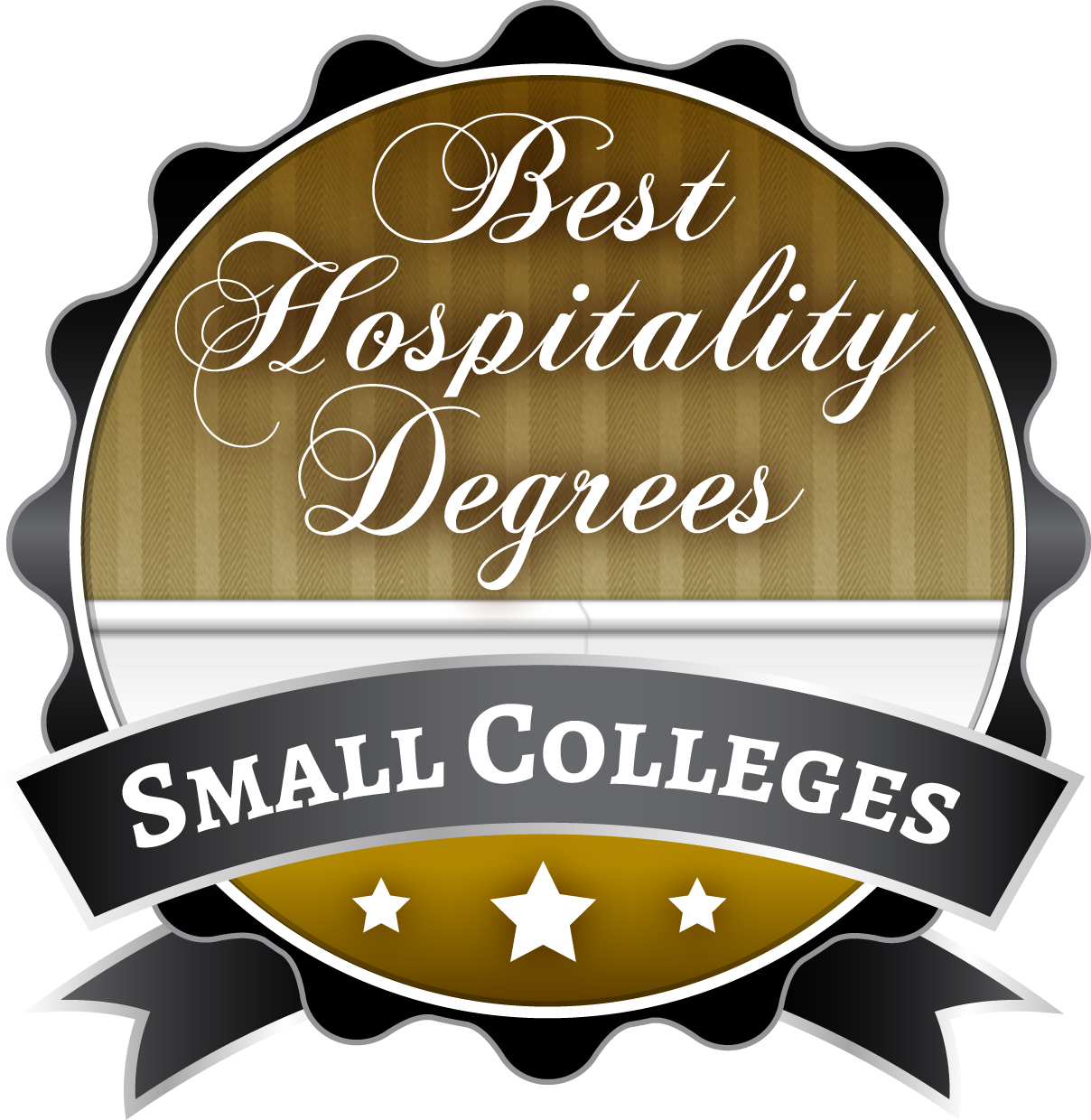 50 most affordable small colleges for hospitality administration click here for high resolution badge