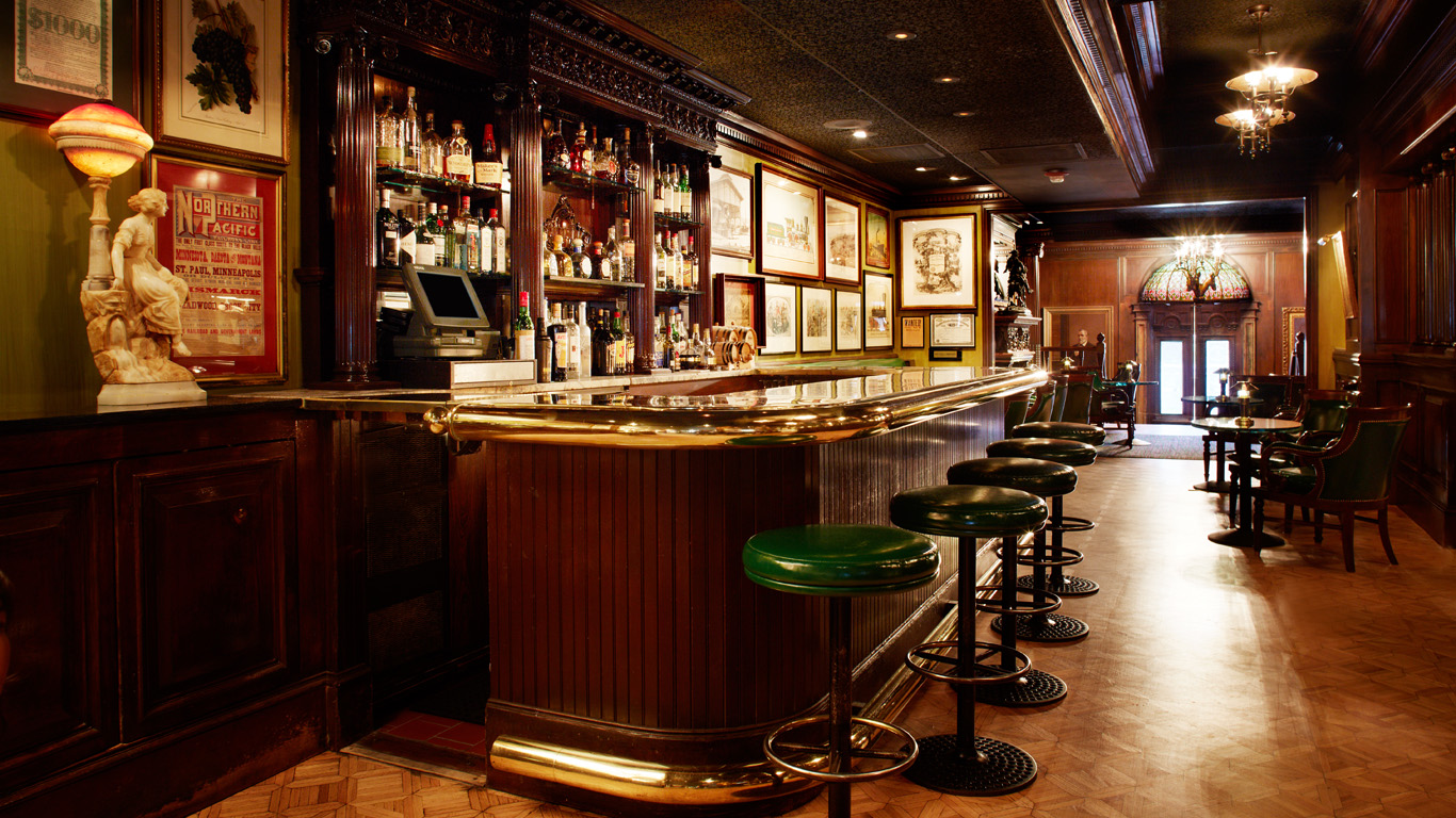 30 most amazing hotel bars in america for American cuisine in san francisco