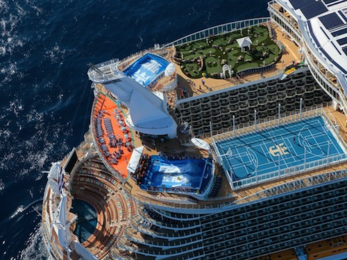 10 most incredible cruise ship designs best hospitality for Allure of the seas interior